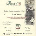 Opus-Urkunde