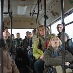 Schüler im Bus