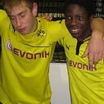 BVB-Fans im Trainingsraum