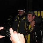 Pierre und Jürgen Klopp strahlen um die Wette.