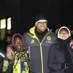 Jürgen Klopp mit seiner Fan-Gemeinde.
